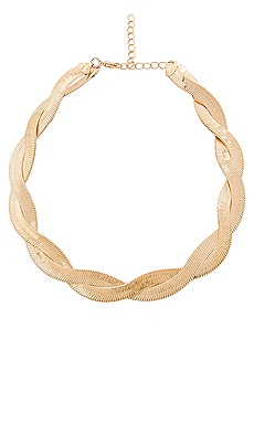 COLLIER RAS DU COU BRAID ME UP EIGHT by GJENMI JEWELRY $24
