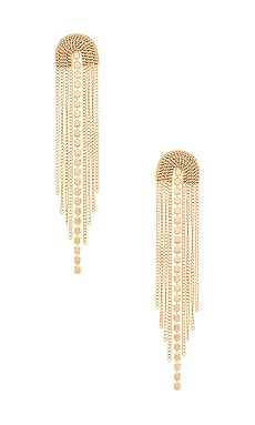 Sunshine Shag Earring EIGHT by GJENMI JEWELRY $40 BEST SELLER