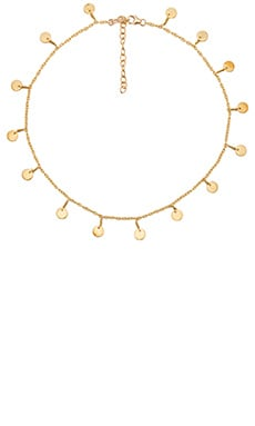 EIGHT by GJENMI JEWELRY Coin Necklace in 14K Gold Plated