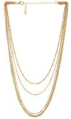 Фото - Ожерелье z chain - EIGHT by GJENMI JEWELRY цвет металлический золотой