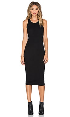 GLAMOROUS Bodycon Midi Dress in Black