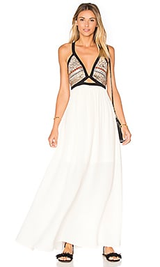 GLAMOROUS Maxi Dress in Cream