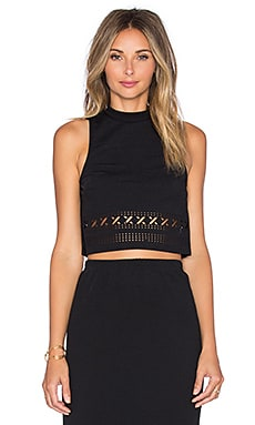 GLAMOROUS Sleeveless Sweater in Black
