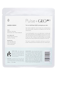 GREEN 시트 마스크 Pulse+GLO by Georgia Louise $80