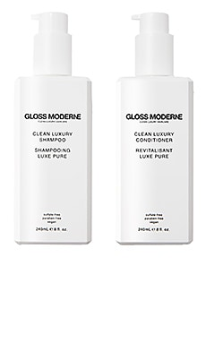 Clean Luxury Shampoo + Conditioner Duo GLOSS MODERNE $84