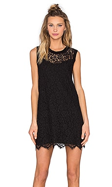 Kaya Lace Dress in Black