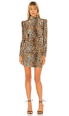Adeline Leopard Dress Generation Love $249