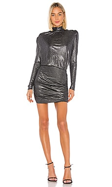 Lolita Foil Mini Dress Generation Love $198