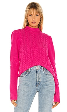 Isabella Cable Knit Sweater Generation Love $137