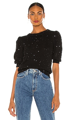 Mia Sequin Sweater Top Generation Love $136