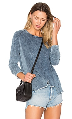 Brook Indigo Sweatshirt in Indigo