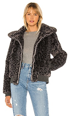Heidi Faux Fur Bomber Generation Love $177