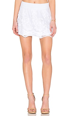 Generation Love Sonali Lace Skirt in White