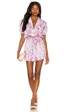 Ainsley Floral Romper Generation Love $198