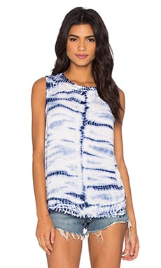 Generation Love Lora Tank in Blue Tie Dye