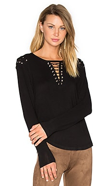 Vivi Lace Up Top