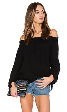 Cynthia Top in Black
