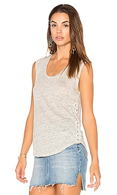 Madge Lace Up Tank