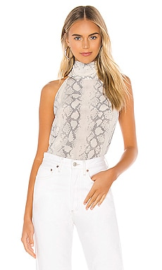 Kaylee Silk Snake Top Generation Love $249