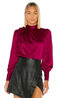 Leslie Drape Blouse Generation Love $265