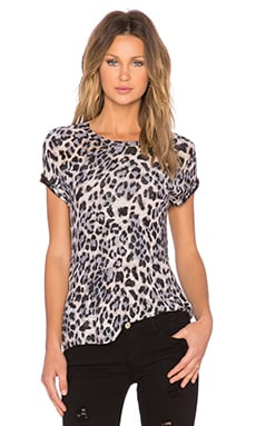 Generation Love Eddie Oversized Tee in Leopard