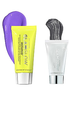 Clear Skin Superheroes SUPERMUD and INSTAMUD Set GLAMGLOW $24
