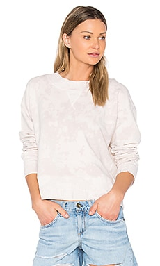 The Sweatshirt in Stoned Dirty White