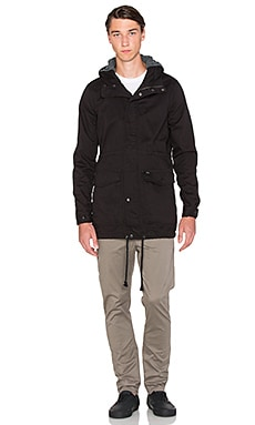 Globe Goodstock Fish Tale Jacket in Black