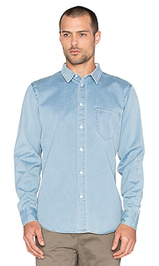 Globe Devon Shirt in Faded Indigo