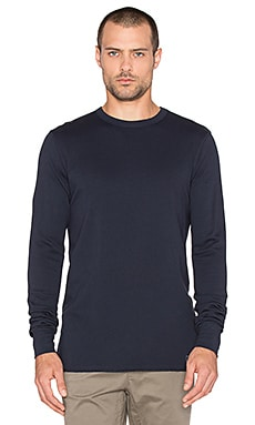 Globe Goodstock L/S Terry Tee in Navy