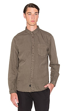 Globe Goodstock Vintage Button Down in Bark