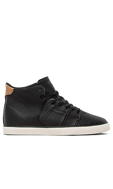Globe Los Angered Sneaker in Black Fog