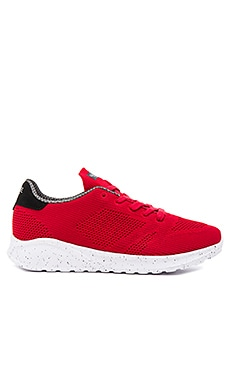 Globe Avante Sneaker in Red and Black