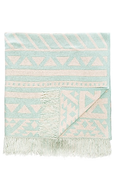 Goddis Aztec Throw in Breeze