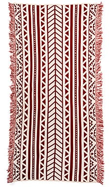 Goddis Aztec Throw in Terracotta