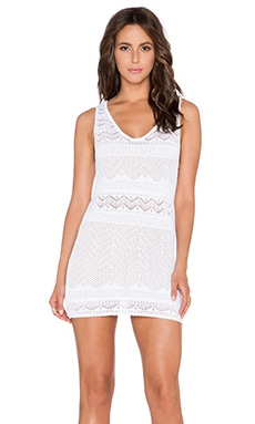 Goddis Jasper Mini Dress in White