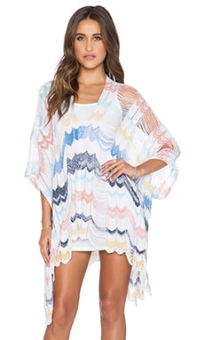 Goddis Rory Caftan Dress in Tropical Bay