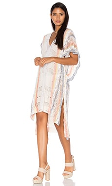 Livia Caftan Dress en Bon Voyage