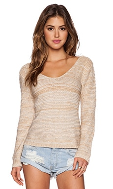 Goddis York Sweater in Gold Digger
