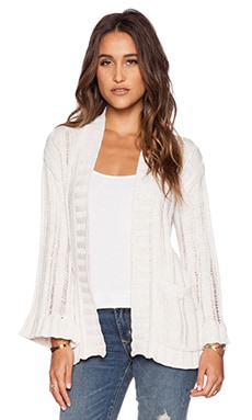 Goddis Jemma Cardigan in Cloud Dancer
