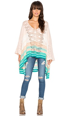 Goddis Carmela Poncho in Sweet Mint