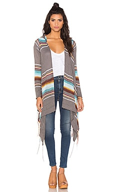 Goddis Linsey Cardigan in Great Lakes