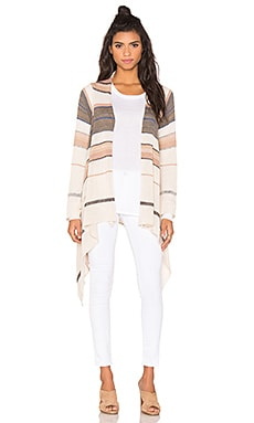 Goddis Naples Cardigan in Cape Sand