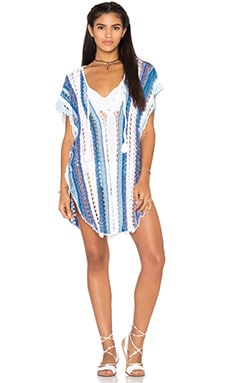 Goddis Movers & Shakers Tunic in Caribbean Exile