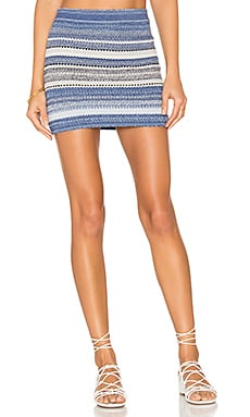 Spell Caster Skirt in Blue Crush