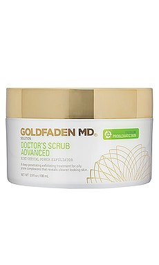 Doctor's Advanced Ruby Crystal Power Exfoliator Scrub Goldfaden MD $98