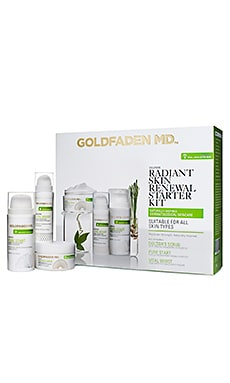 Radiant Renewal Starter Kit Goldfaden MD $75