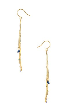 Gorjana Luca Shimmer Arc Mobile Earrings Discount