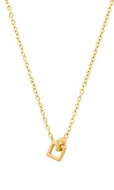 gorjana Ryder Charm Necklace in Gold