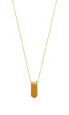 gorjana Faryn Fringe Necklace in Gold